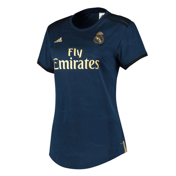 Maillot Football Real Madrid Exterieur Femme 2019-20 Bleu