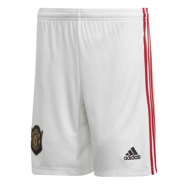 Pantalon Football Manchester United Domicile 2019-20 Blanc