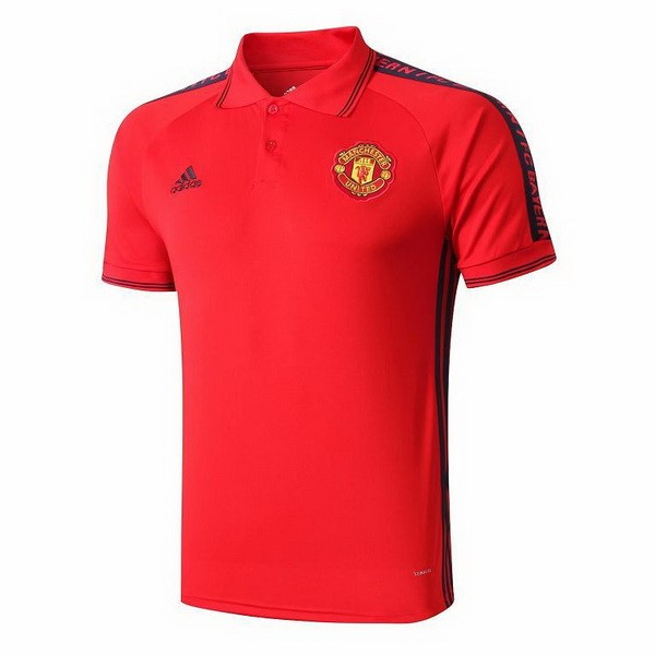 Polo Manchester United 2019-20 Rouge Jaune