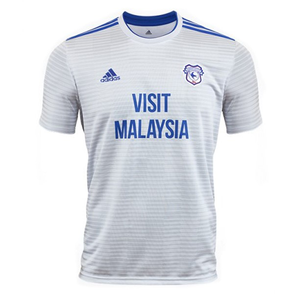 Maillot Football Cardiff City Exterieur 2018-19 Blanc