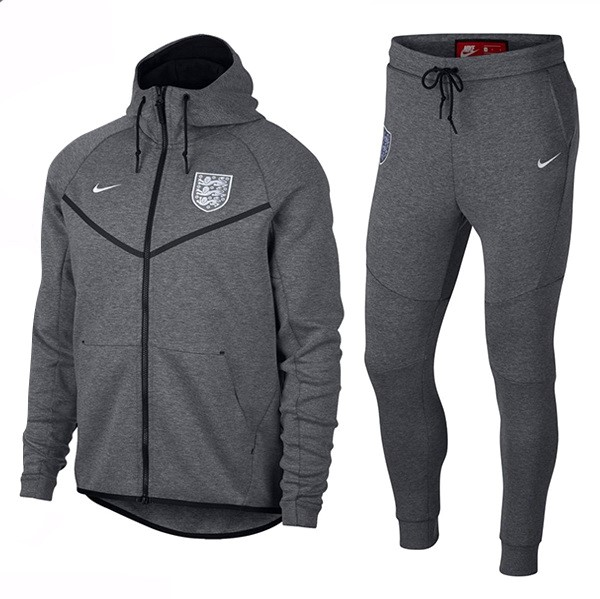 Survetement Football Angleterre 2018 Gris