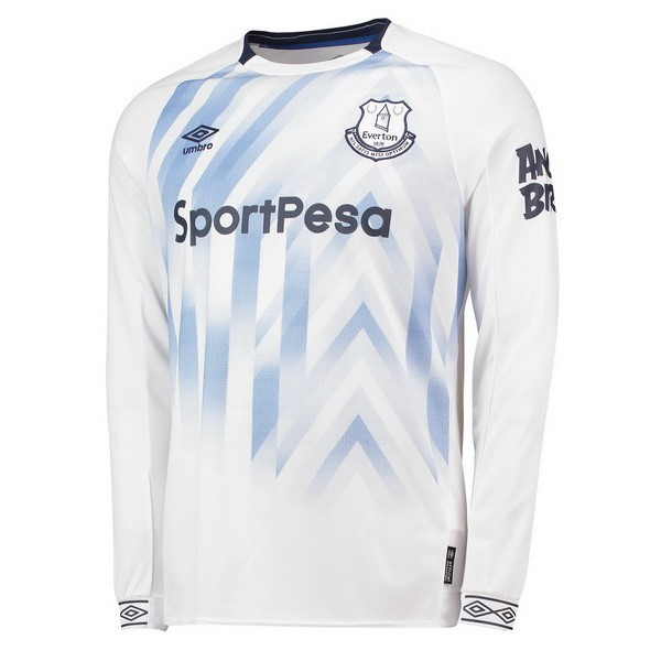 Maillot Football Everton Third ML 2018-19 Blanc