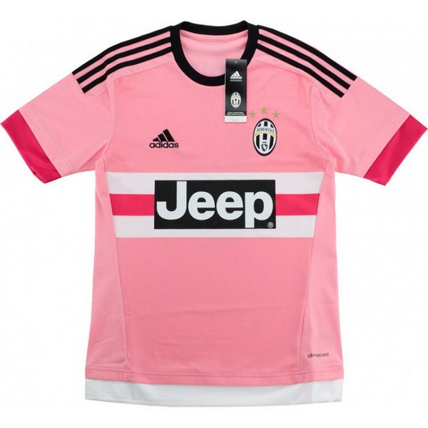 Maillot Football Juventus Exterieur Retro 2015 2016 Rose