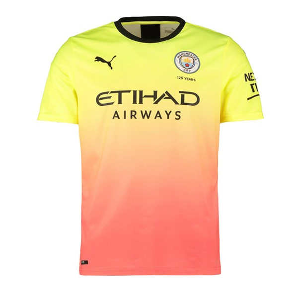 Maillot Football Manchester City Third 2019-20 Orange