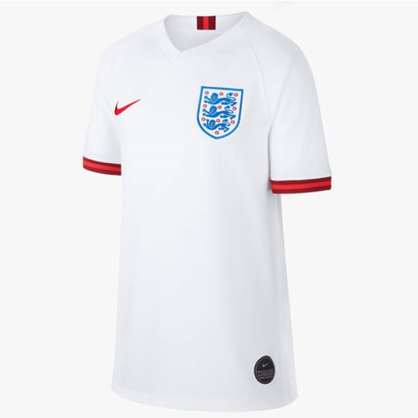 Maillot Football Angleterre Domicile Femme 2019 Blanc