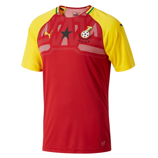 Maillot Football Ghana Domicile 2018 Rouge