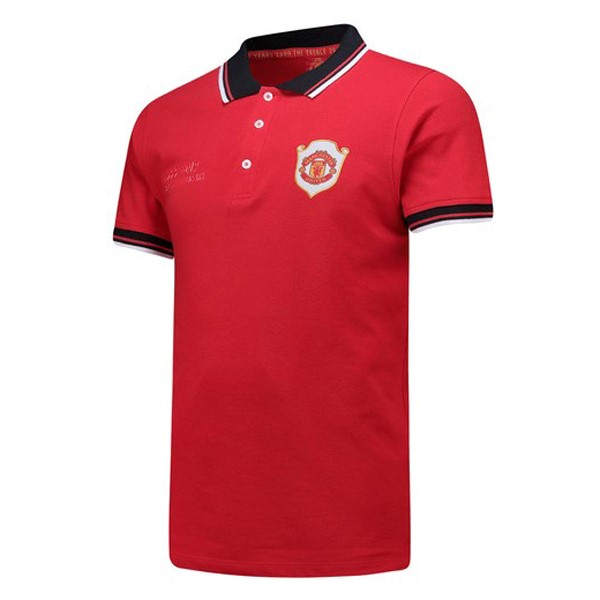 Polo Manchester United 20th Rouge